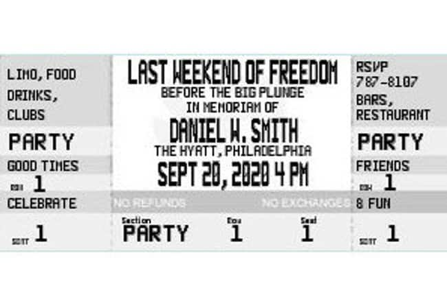 Party Ticket Invitation