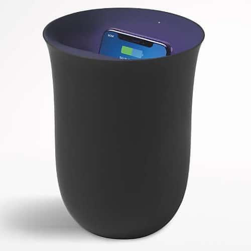 Wireless Charging Station with Built-in UV Sanitizer