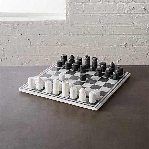 Modern Marble Chess Set