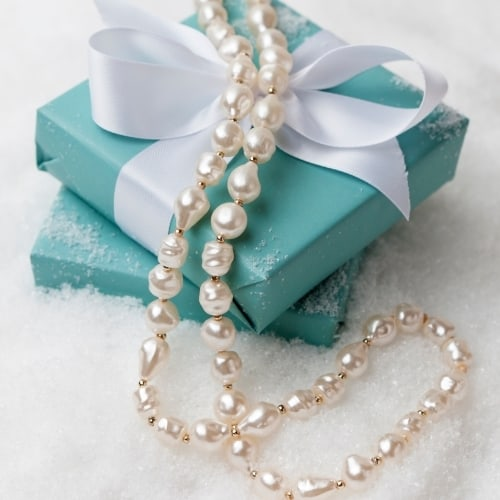 Pearl Necklace Gift Box