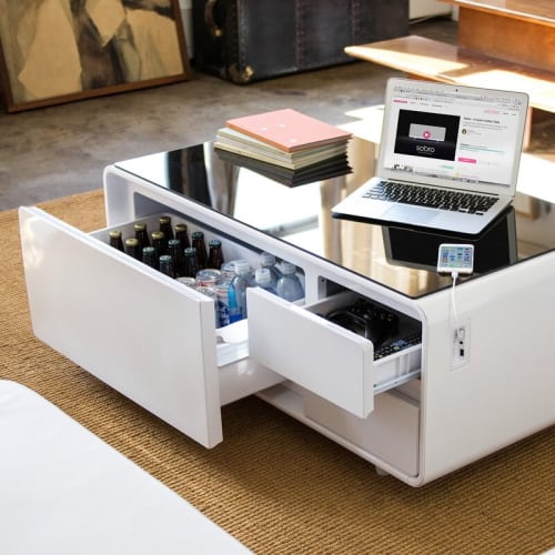 Smart Coffee Table with Storage