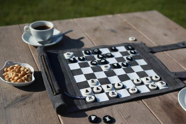 Roll-Up Travel Chess and Checkers