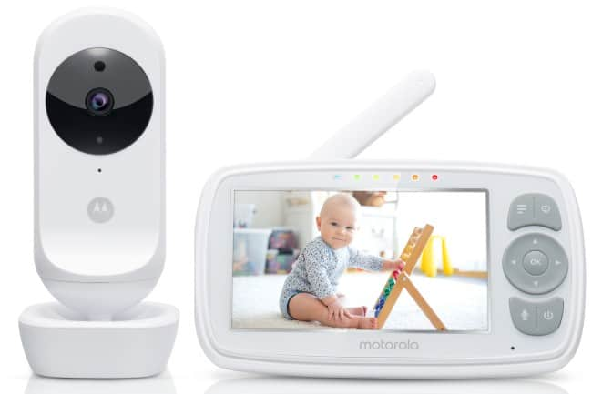baby monitor with screen