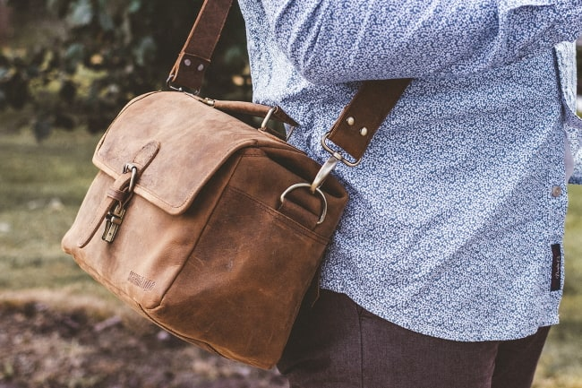 best leather camera bags