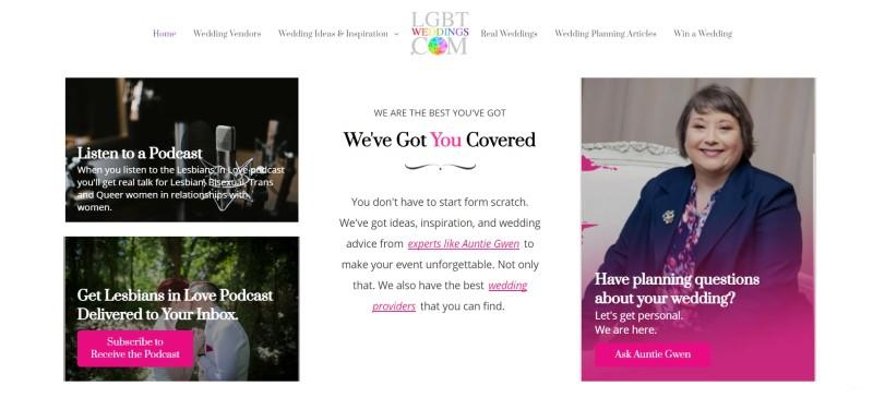 lgbtweddings home page