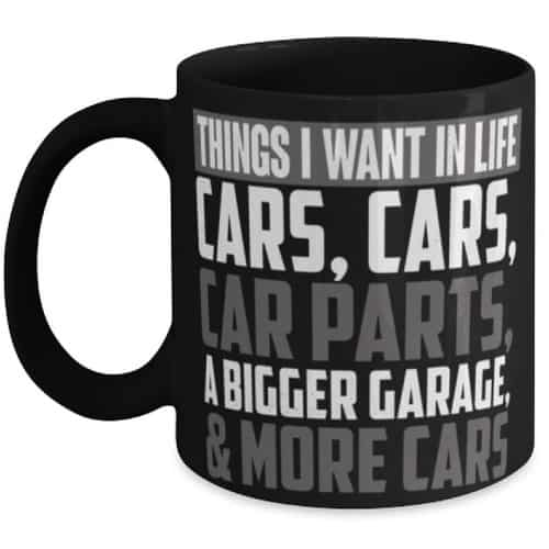 Funny Car Lovers Mug