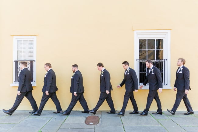 Colorful Downtown Charlston Wedding Featured