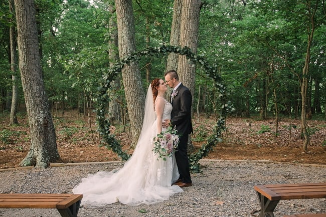 Elegant Barn Wedding at Chickadee Feature