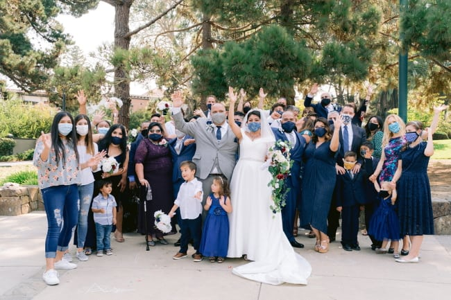 Palace of Fine Arts COVID Wedding Featured