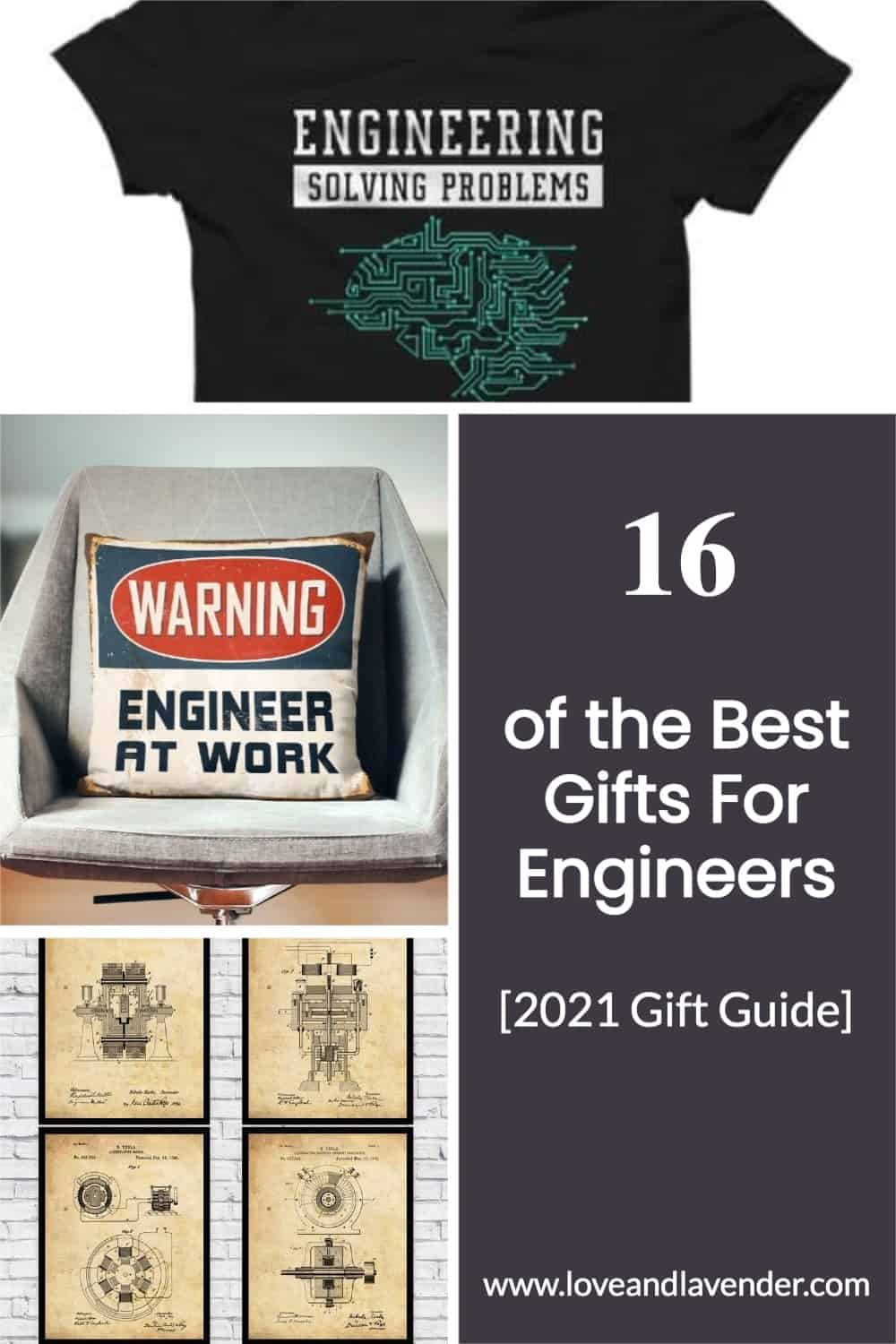 pinterest pin - gifts for engineers