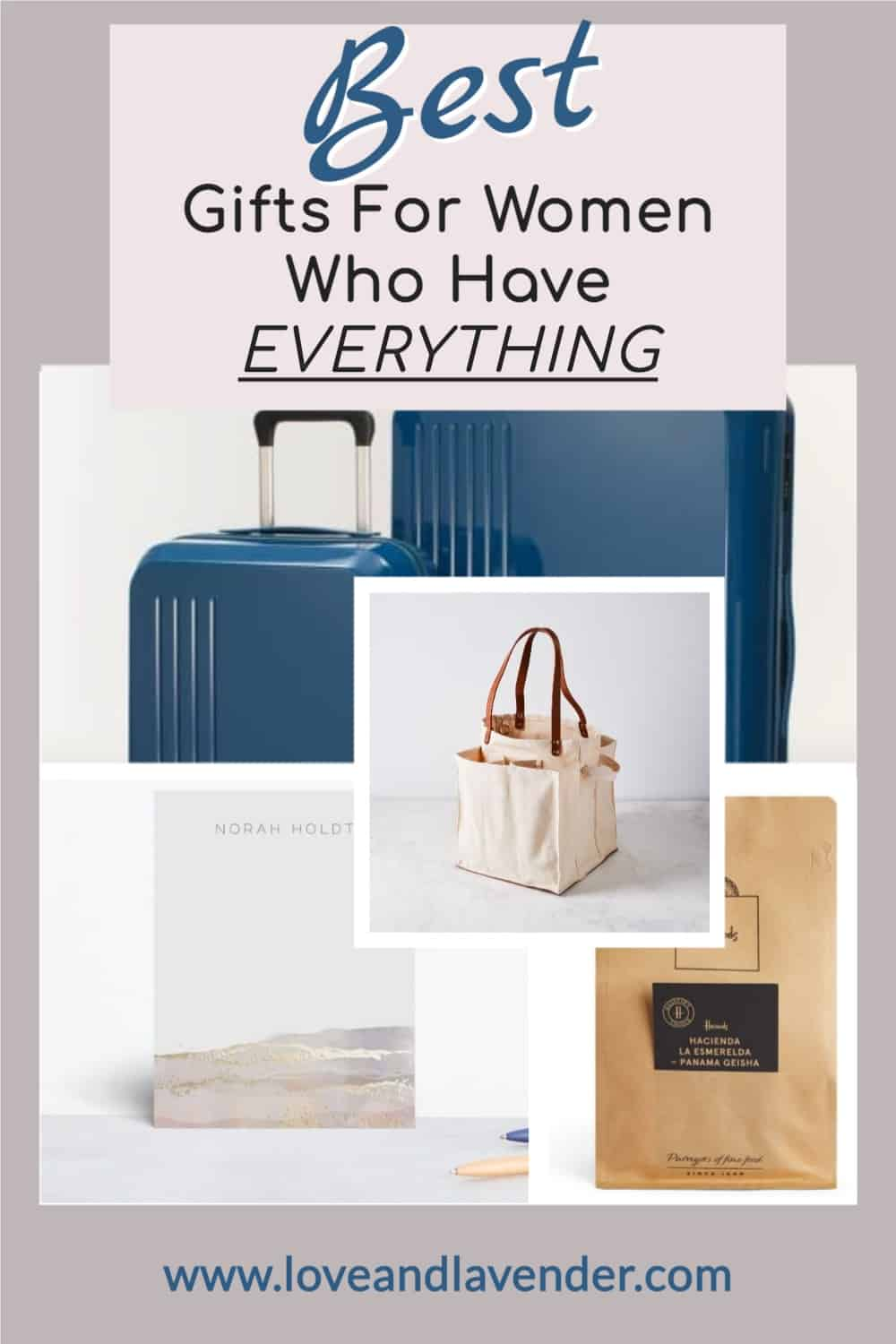 pinterest pin - gifts for women who have everything