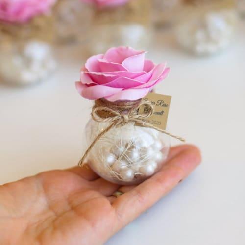 candy jar wedding favor