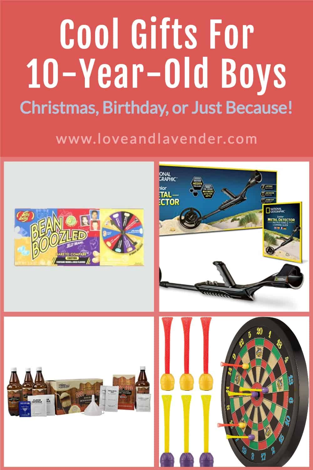 pinterest pin - gifts for 10 year old boys