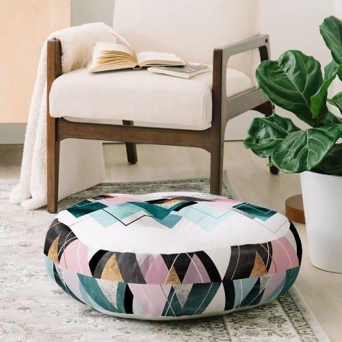 Nordic Print Floor Pillow