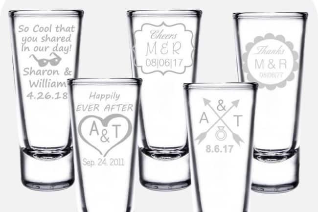 personalized shot glasses