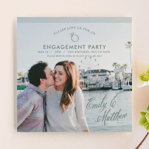 Simple Celebration invitation
