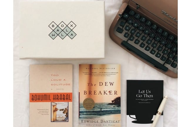 Boxwalla Book subscription box