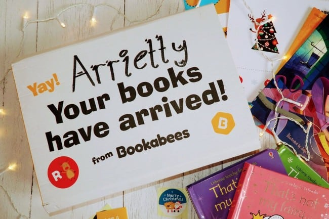 Bookabees book subscription box