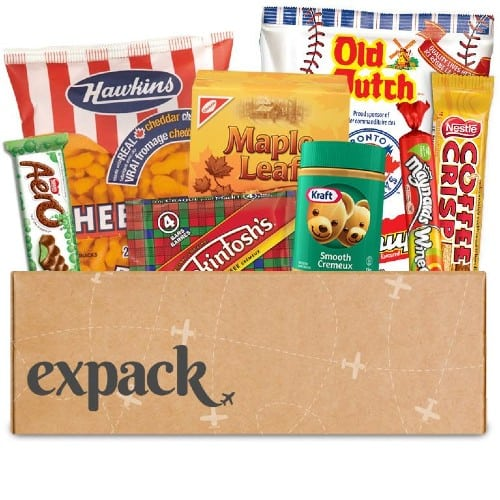 Canadian Snack subscription box