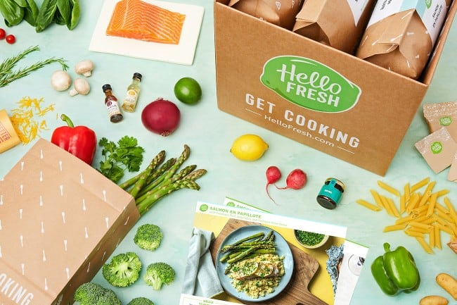 Meal Subscription Box Hello Fresh