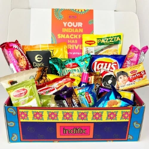 Indian Snack Subscription Box