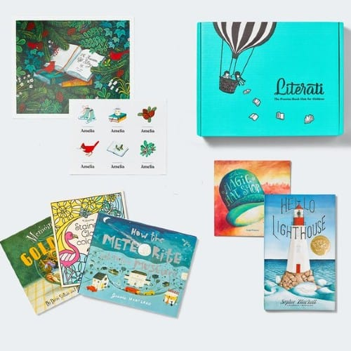 Literati Kids book subscription box