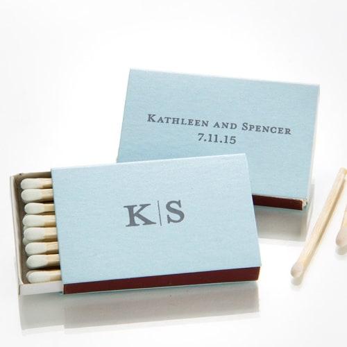 personalized match box