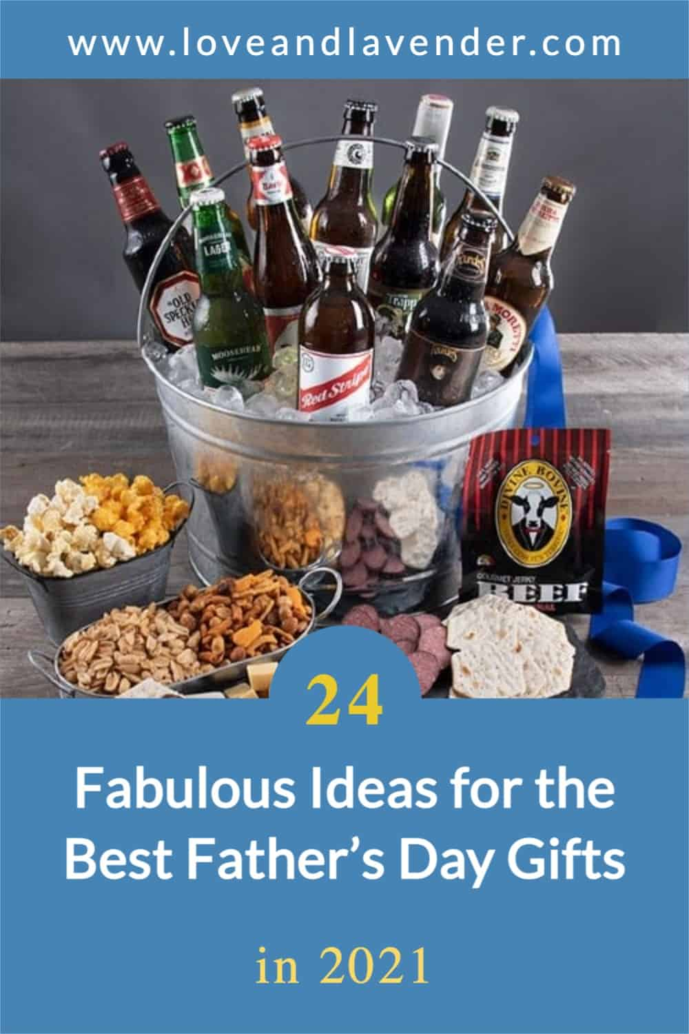 pinterest pin - father's day gift ideas