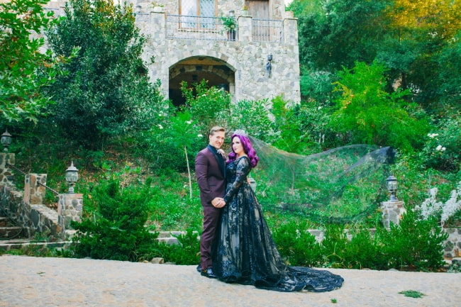 Halloween Wedding at Lobo Castle Featured