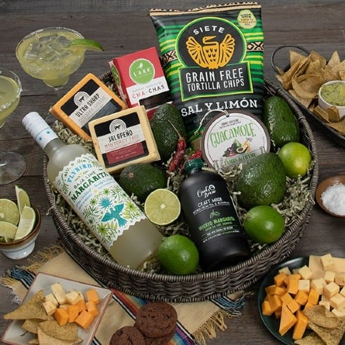 Chippin, Dippin, and Margarita Sippin Basket