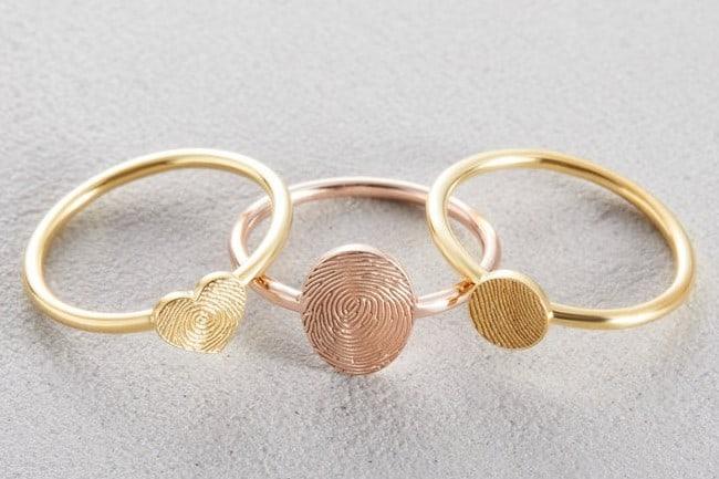 Memorial Thumbprint Ring