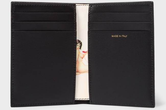 Paul Smith Credit Card Wallet (with a Secret)