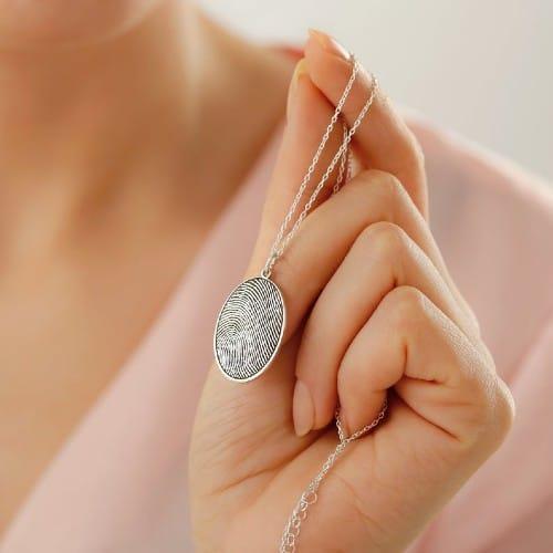 Classic Fingerprint Necklace