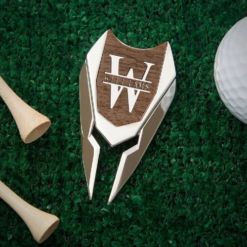 Engraved Divot Tool and Ball Marker