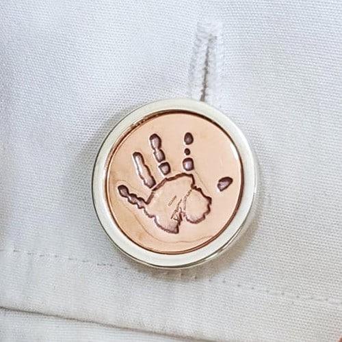 Hand or Footprint Cufflinks