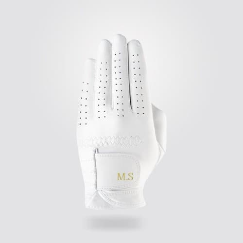 Personalized Leather Golf Glove