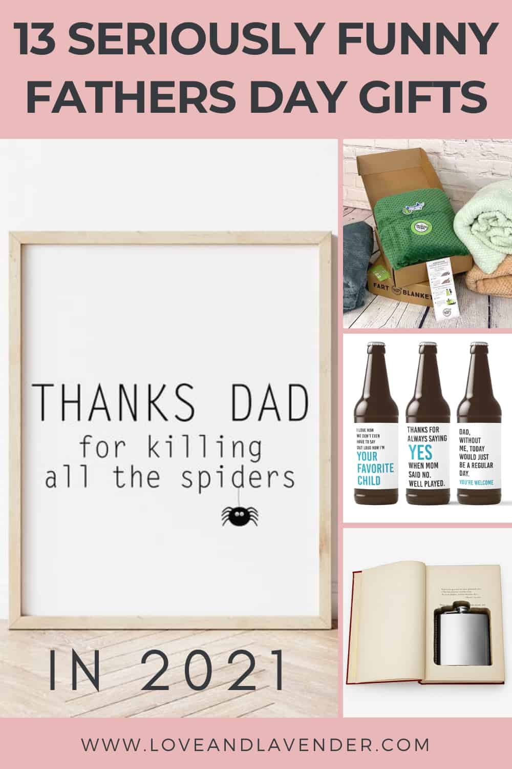 pinterest pin - funny father's day gifts