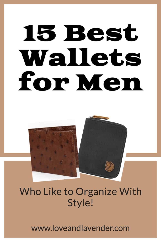 pinterest pin - best wallets for men