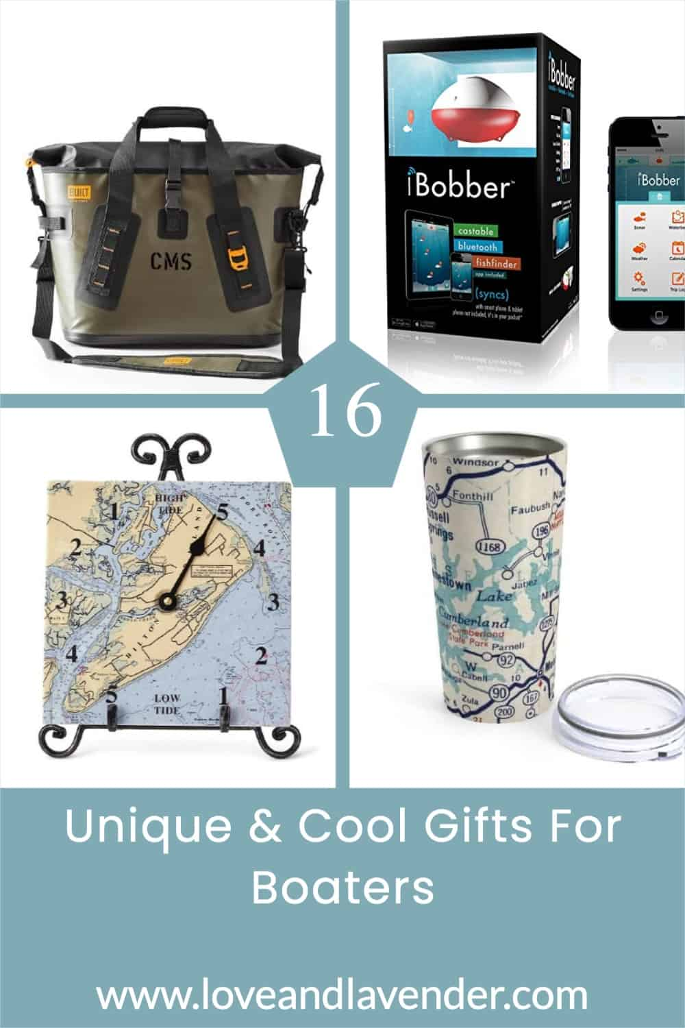 pinterest pin - gifts for boaters