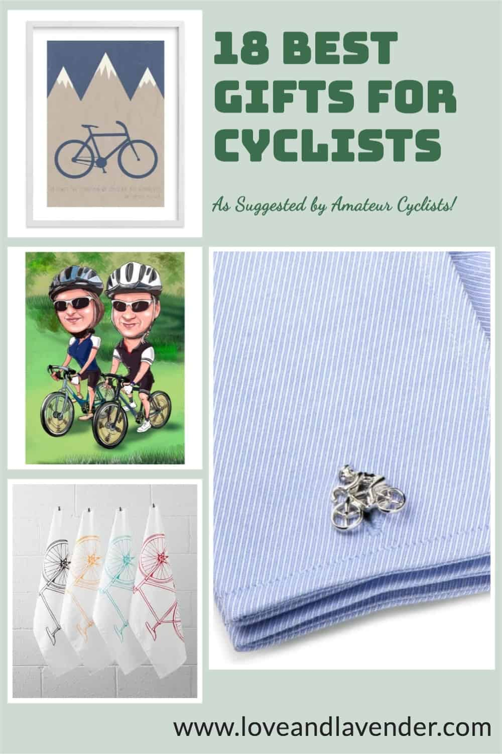 pinterest pin - gifts for cyclists