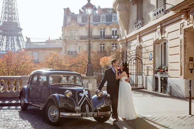 Elegant Paris Elopement Feature