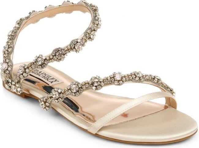 badgley mischka zia sandal