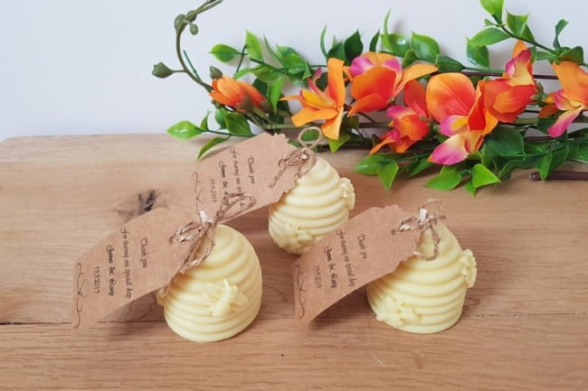 bee hive candles