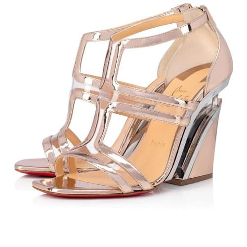loboutin wedge heel shoe