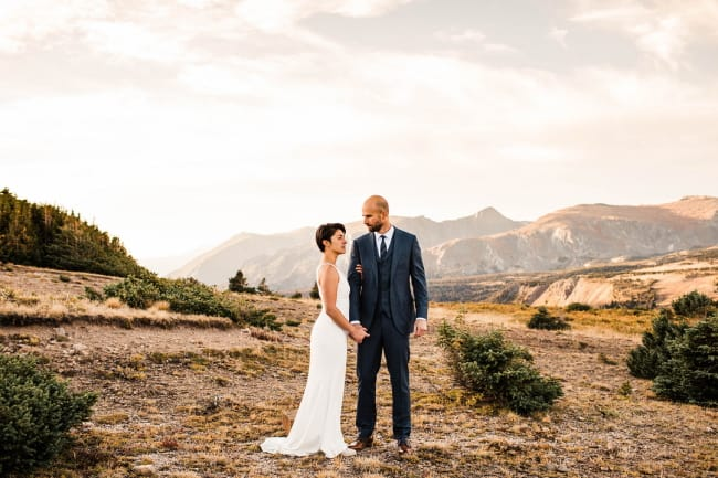 Fresh and Vibrant Garden Micro-Wedding Featured