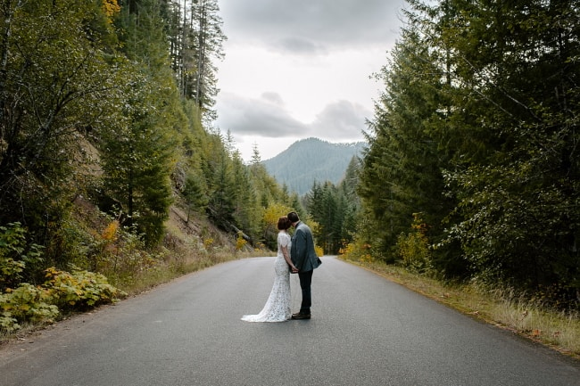 Magical Waterfall Hiking Elopement Feature